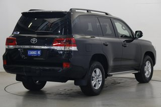 2020 Toyota Landcruiser VDJ200R GXL Eclipse Black 6 Speed Sports Automatic Wagon