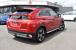2017 Mitsubishi Eclipse Cross YA MY18 Exceed 2WD Red/Black 8 Speed Constant Variable Wagon