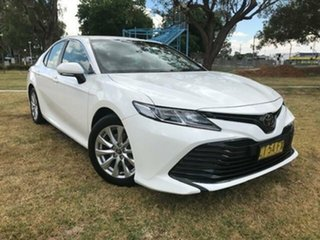 2019 Toyota Camry Camry Ascent 2.5L Petrol Automatic Sedan 2V62140 003 White Automatic Sedan.