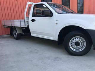 2007 Holden Rodeo RA MY07 DX 4x2 White 5 Speed Manual Cab Chassis