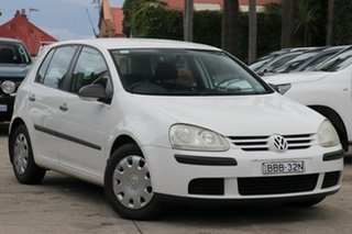 2007 Volkswagen Golf V MY07 Trendline Tiptronic 6 Speed Sports Automatic Hatchback.