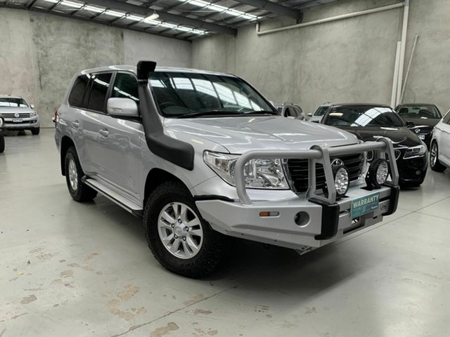 Used Toyota Landcruiser VDJ200R GXL Coburg North, 2015 Toyota Landcruiser VDJ200R GXL Silver 6 Speed Sports Automatic Wagon