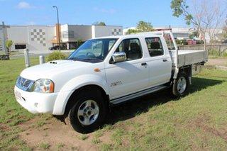 2011 Nissan Navara D22 MY2010 ST-R White 5 Speed Manual Utility.