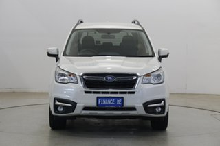 2017 Subaru Forester S4 MY18 2.0D-L CVT AWD Crystal White 7 Speed Constant Variable Wagon.