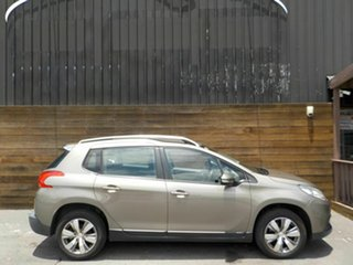 2014 Peugeot 2008 A94 Active Beige 4 Speed Sports Automatic Wagon.