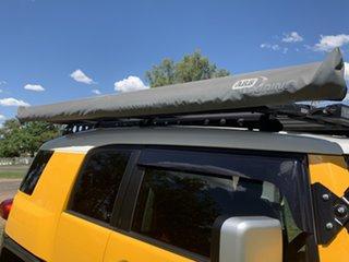 2012 Toyota FJ Cruiser GSJ15R Hornet Yellow & White Roof 5 Speed Automatic Wagon