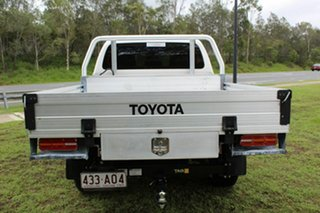 2017 Toyota Hilux GUN125R Workmate Double Cab White 6 Speed Sports Automatic Cab Chassis