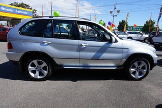 2005 BMW X5 E53 MY05 Steptronic Titanium Silver 5 Speed Sports Automatic Wagon