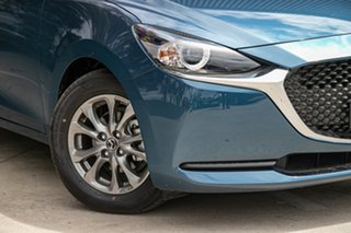 2020 Mazda 2 DJ2HAA G15 SKYACTIV-Drive Pure Eternal Blue 6 Speed Sports Automatic Hatchback.