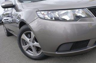 2010 Kia Cerato TD MY10 SI Titanium Silver 4 Speed Sports Automatic Sedan.