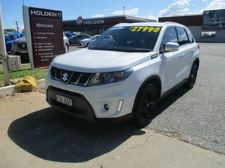 2018 Suzuki Vitara LY S Turbo 4WD White 6 Speed Sports Automatic Wagon