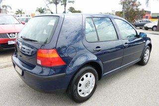 2000 Volkswagen Golf GL Blue 4 Speed Automatic Hatchback