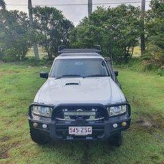 2003 Nissan Patrol GU III MY2003 ST White 5 Speed Manual Wagon.