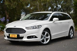 2017 Ford Mondeo MD 2017.50MY Trend White 6 Speed Sports Automatic Dual Clutch Wagon.