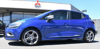 2017 Renault Clio IV B98 Phase 2 GT-Line EDC Blue 6 Speed Sports Automatic Dual Clutch Hatchback
