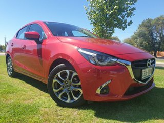 2017 Mazda 2 DL2SAA GT SKYACTIV-Drive Soul Red 6 Speed Sports Automatic Sedan.