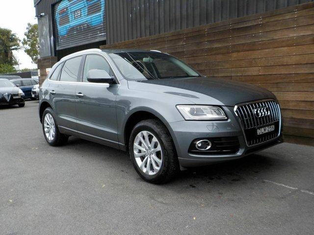 Used Audi Q5 8R MY15 TFSI Tiptronic Quattro Labrador, 2015 Audi Q5 8R MY15 TFSI Tiptronic Quattro Grey 8 Speed Sports Automatic Wagon