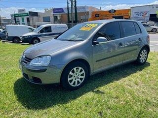 2006 Volkswagen Golf V Comfortline Tiptronic Grey 6 Speed Sports Automatic Hatchback.
