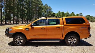 2016 Ford Ranger PX MkII Wildtrak Double Cab Pride Orange 6 Speed Sports Automatic Utility