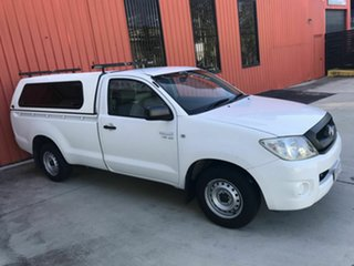 2010 Toyota Hilux GGN15R MY10 SR 4x2 White 5 Speed Manual Utility