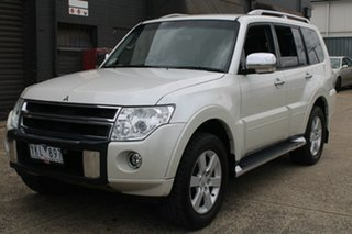 2011 Mitsubishi Pajero NT MY11 RX (4x4) White 5 Speed Auto Sports Mode Wagon.