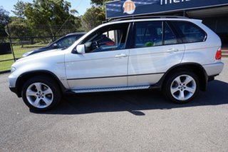 2005 BMW X5 E53 MY05 Steptronic Titanium Silver 5 Speed Sports Automatic Wagon.