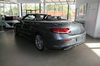 2016 Mercedes-Benz C-Class A205 C300 9G-Tronic Grey 9 Speed Sports Automatic Cabriolet