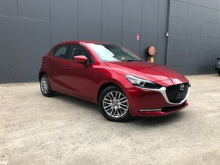 2020 Mazda 2 DJ2HAA G15 SKYACTIV-Drive Evolve Soul Red Crystal 6 Speed Sports Automatic Hatchback.