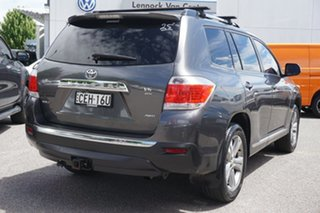 2012 Toyota Kluger GSU45R MY12 KX-S AWD Grey 5 Speed Sports Automatic Wagon