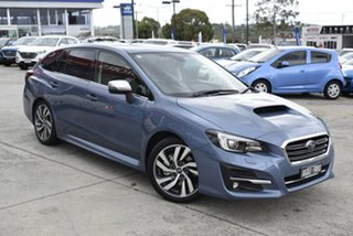 2017 Subaru Levorg V1 MY18 1.6 GT CVT AWD Premium Blue 6 Speed Constant Variable Wagon.