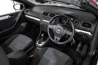 2013 Volkswagen Golf VI MY13.5 118TSI DSG Black 7 Speed Sports Automatic Dual Clutch Cabriolet