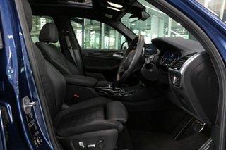 2019 BMW X3 G01 M40i Steptronic Blue 8 Speed Automatic Wagon.