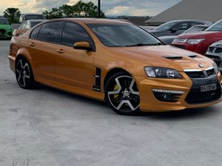 2009 Holden Special Vehicles GTS E Series 2 Orange 6 Speed Manual Sedan.
