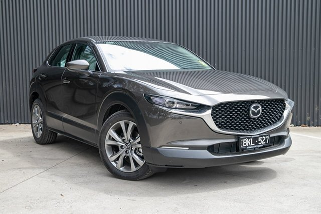 Demo Mazda CX-30 DM2W7A G20 SKYACTIV-Drive Astina Mornington, 2020 Mazda CX-30 DM2W7A G20 SKYACTIV-Drive Astina Titanium Flash 6 Speed Sports Automatic Wagon