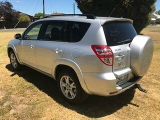 2012 Toyota RAV4 ACA33R 08 Upgrade Cruiser (4x4) Silver Pearl 4 Speed Automatic Wagon