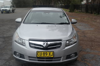 2010 Holden Cruze JG CDX Silver 6 Speed Sports Automatic Sedan.