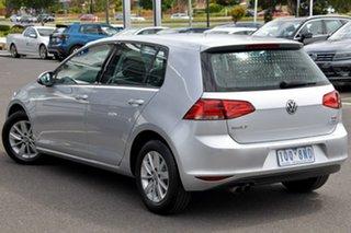 2016 Volkswagen Golf VII MY16 92TSI DSG Trendline Silver 7 Speed Sports Automatic Dual Clutch.
