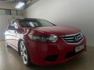 2012 Honda Accord 10 MY12 Euro Red 6 Speed Manual Sedan.