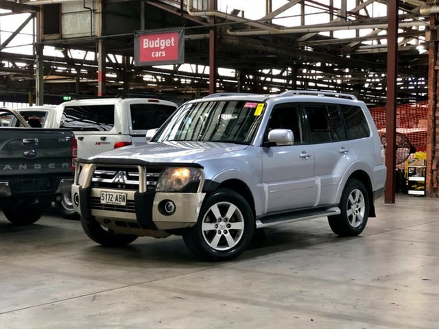 Used Mitsubishi Pajero NS VR-X Mile End South, 2008 Mitsubishi Pajero NS VR-X Silver 5 Speed Sports Automatic Wagon