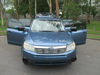 2008 Subaru Forester S3 MY09 XS AWD Blue 4 Speed Sports Automatic Wagon