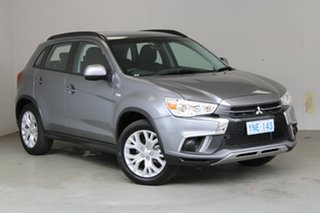 2019 Mitsubishi ASX XC MY19 ES 2WD Grey 1 Speed Constant Variable Wagon