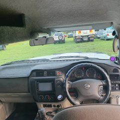 2003 Nissan Patrol GU III MY2003 ST White 5 Speed Manual Wagon