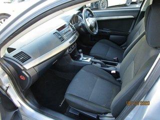 2008 Mitsubishi Lancer CJ ES Silver 6 Speed CVT Auto Sequential Sedan