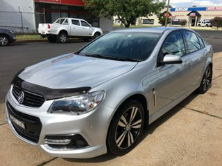 2015 Holden Commodore VF SV6 Storm Silver Sports Automatic.