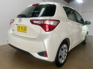 2018 Toyota Yaris NCP130R MY17 Ascent White 4 Speed Automatic Hatchback