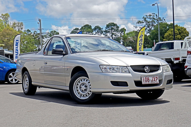 Used Holden Ute VZ MY06 Chandler, 2006 Holden Ute VZ MY06 Silver 4 Speed Automatic Utility