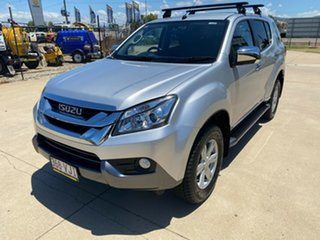 2014 Isuzu MU-X MY14 LS-U Rev-Tronic Silver 5 Speed Sports Automatic Wagon