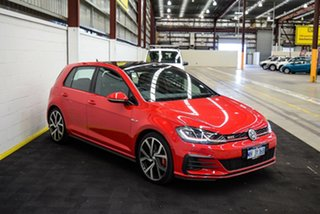 2019 Volkswagen Golf 7.5 MY19.5 GTI DSG Red/Black 7 Speed Sports Automatic Dual Clutch Hatchback