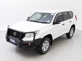 2018 Toyota Landcruiser Prado GDJ150R MY18 GX (4x4) White 6 Speed Automatic Wagon