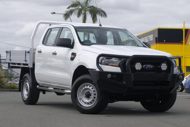 Used Ford Ranger PX MkII XL Rocklea, 2016 Ford Ranger PX MkII XL Cool White 6 Speed Sports Automatic Cab Chassis